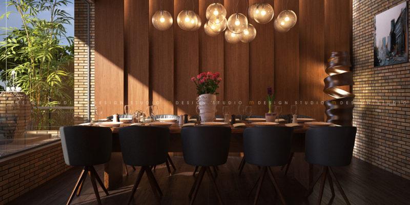 Nội thất phòng VIP - Nhà hàng cafe ẩm thực Phố Việt