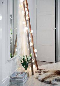 Eclectic Lighting 6 208x300 - 10 Mẹo Thiết Kế Phòng Khách Đẹp