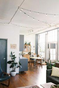 Eclectic Lighting 9 200x300 - 10 Mẹo Thiết Kế Phòng Khách Đẹp