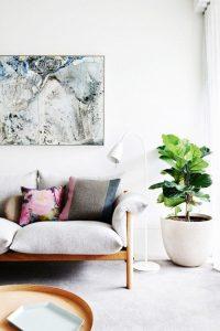 Plant Decor 10 200x300 - 10 Mẹo Thiết Kế Phòng Khách Đẹp