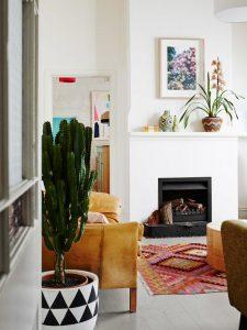 Plant Decor 7 225x300 - 10 Mẹo Thiết Kế Phòng Khách Đẹp