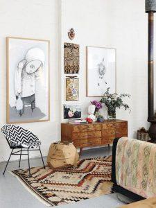 Sideboard Living Room 4 225x300 - 10 Mẹo Thiết Kế Phòng Khách Đẹp