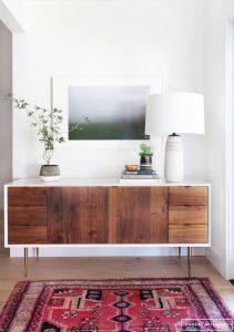 Sideboard Living Room 6 211x300 - 10 Mẹo Thiết Kế Phòng Khách Đẹp