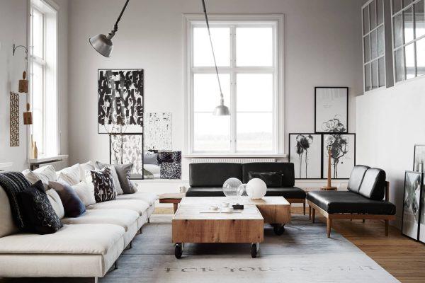 Ylva Skarps living room.  600x400 - 10 Mẹo Thiết Kế Phòng Khách Đẹp