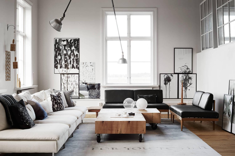 Ylva Skarps living room.  - 10 Mẹo Thiết Kế Phòng Khách Đẹp