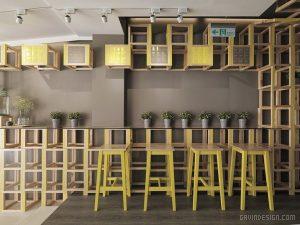 12 5 300x225 - THIẾT KẾ QUÁN CAFE BAR LES BÉBES