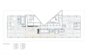 20 Bean Buro Workplace UBER Plan 300x189 - THIẾT KẾ NỘI THẤT VĂN PHÒNG ĐỘC ĐÁO UBER