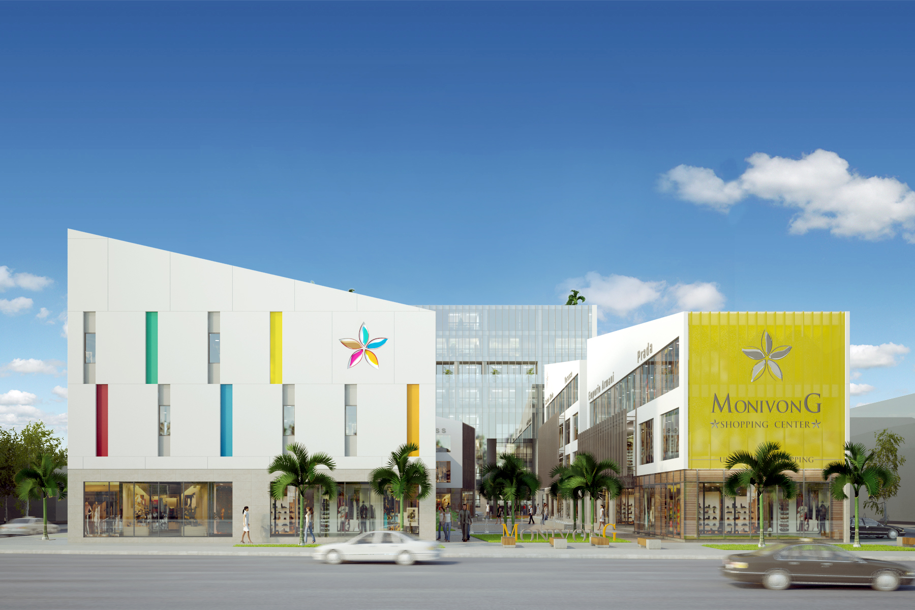C3 - DESIGN MONIVONG CENTER - SHOPPING AND OFFICE COMPLEX