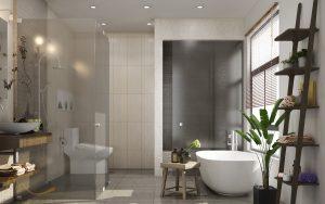 toilet master 1 300x188 - THIẾT KẾ NỘI THẤT CĂN HỘ PENTHOUSE 300M2 – AIRPORT PLAZA Q. TÂN BÌNH