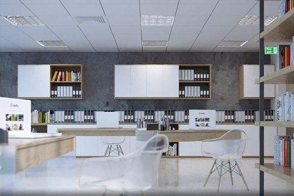 Nội thất văn phòng hiện đại - Siplec VN
