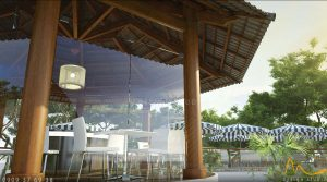 Villadesol 4 300x167 - THIẾT KẾ KIẾN TRÚC - NỘI THẤT NHÀ HÀNG CAFE VILLA DESOL