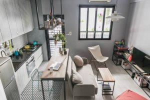 tiny apartment studio design 300x200 - TƯ VẤN NỘI THẤT CĂN HỘ DIỆN TÍCH NHỎ DƯỚI 65M2