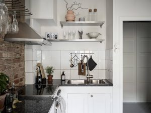 11 casa in grigio con un tocco vintage 300x225 - CĂN HỘ 38 M2 VỚI THIẾT KẾ THÔNG MINH