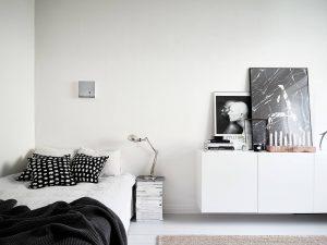 5 casa in grigio con un tocco vintage 300x225 - CĂN HỘ 38 M2 VỚI THIẾT KẾ THÔNG MINH