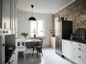 9 casa in grigio con un tocco vintage 300x225 - CĂN HỘ 38 M2 VỚI THIẾT KẾ THÔNG MINH