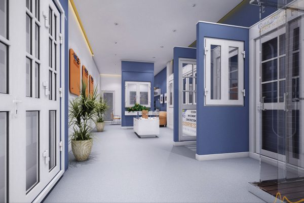 Thiết kế showroom - Cửu Long