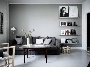 casa in grigio con un tocco vintage 300x225 - CĂN HỘ 38 M2 VỚI THIẾT KẾ THÔNG MINH