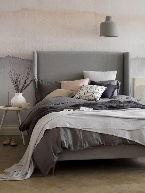 gallery 1516892645 006 button sprung holly double bed frame in pumice soft textured weave - 10 XU HƯỚNG NỘI THẤT HOT NHẤT MÙA XUÂN - HÈ 2018