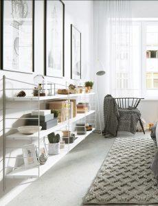 lightweight bedroom furniture 230x300 - CĂN HỘ NHỎ SÁNG BỪNG VỚI PHONG CÁCH BẮC ÂU