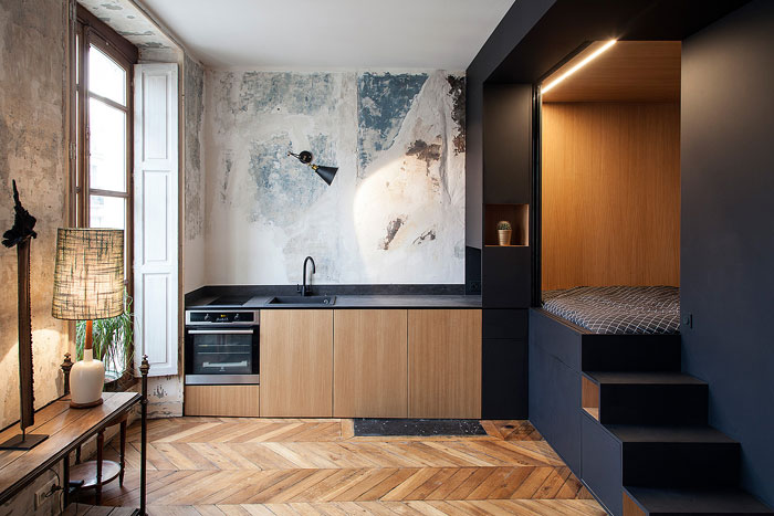 50 Small Studio Apartment 1 - 50 Ý TƯỞNG THIẾT KẾ CĂN HỘ STUDIO NHỎ 2019 (P1)