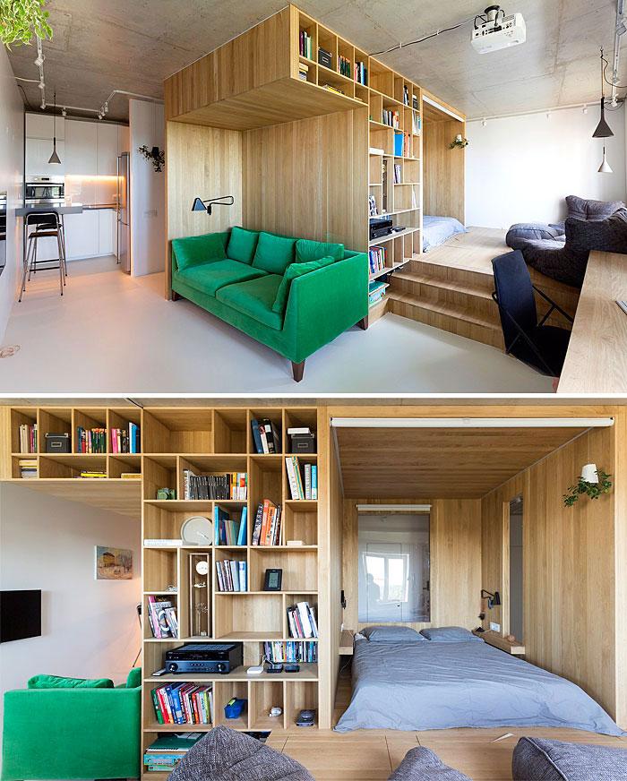 50 Small Studio Apartment 10 - 50 Ý TƯỞNG THIẾT KẾ CĂN HỘ STUDIO NHỎ 2019 (P1)