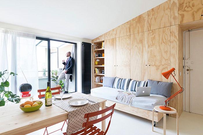 50 Small Studio Apartment 12 - 50 Ý TƯỞNG THIẾT KẾ CĂN HỘ STUDIO NHỎ 2019 (P1)