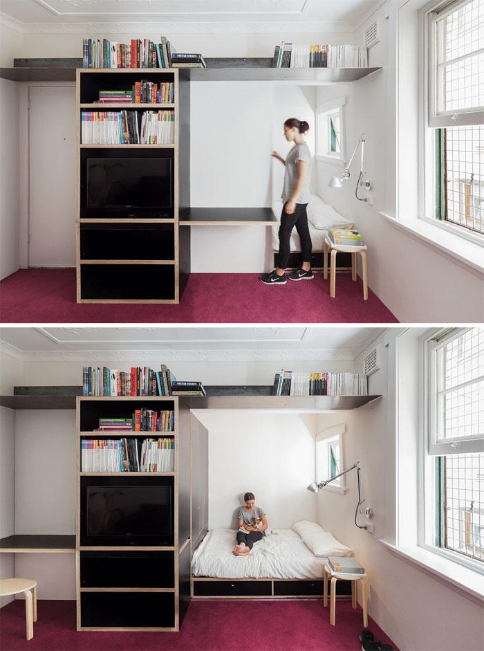 50 Small Studio Apartment 16 - 50 Ý TƯỞNG THIẾT KẾ CĂN HỘ STUDIO NHỎ 2019 (P2)