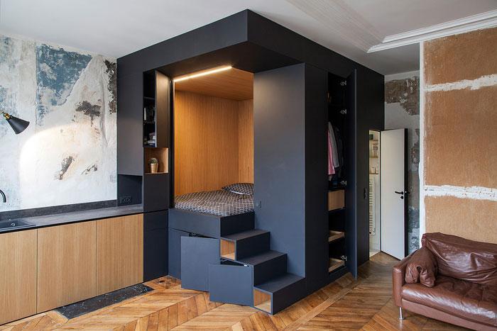 50 Small Studio Apartment 2 - 50 Ý TƯỞNG THIẾT KẾ CĂN HỘ STUDIO NHỎ 2019 (P1)