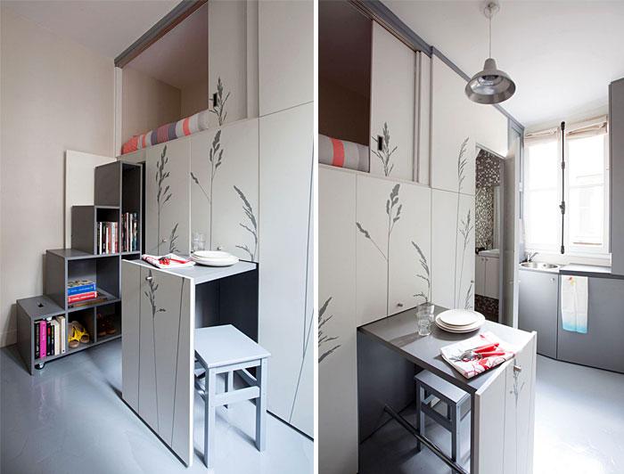 50 Small Studio Apartment 20 - 50 Ý TƯỞNG THIẾT KẾ CĂN HỘ STUDIO NHỎ 2019 (P2)