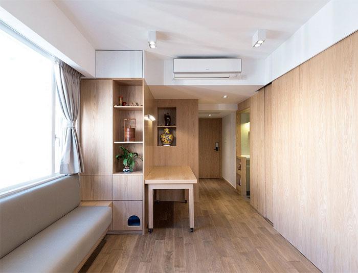 50 Small Studio Apartment 22 - 50 Ý TƯỞNG THIẾT KẾ CĂN HỘ STUDIO NHỎ 2019 (P2)