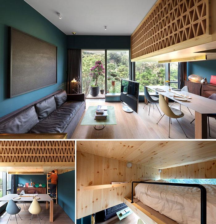 50 Small Studio Apartment 23 - 50 Ý TƯỞNG THIẾT KẾ CĂN HỘ STUDIO NHỎ 2019 (P2)