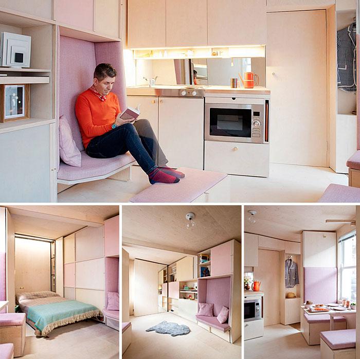 50 Small Studio Apartment 24 - 50 Ý TƯỞNG THIẾT KẾ CĂN HỘ STUDIO NHỎ 2019 (P2)