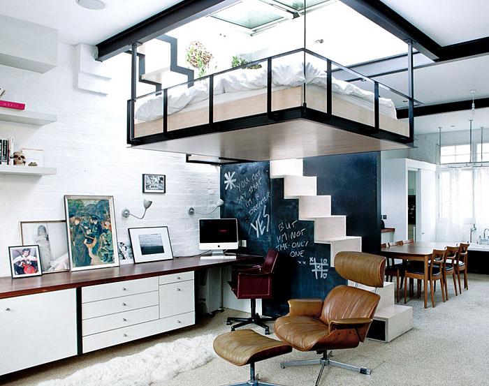 50 Small Studio Apartment 8 - 50 Ý TƯỞNG THIẾT KẾ CĂN HỘ STUDIO NHỎ 2019 (P1)