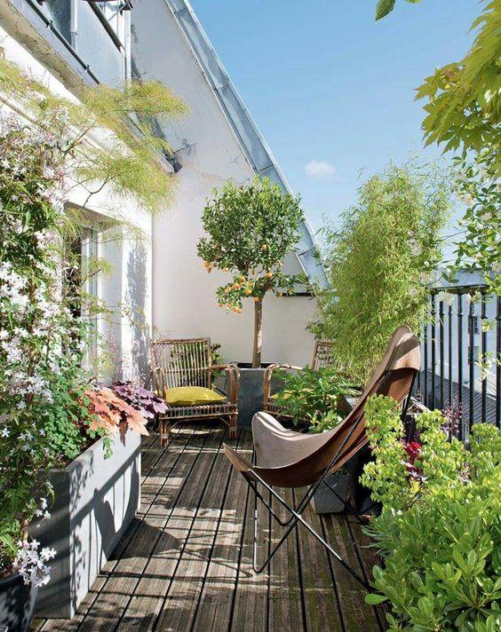 balcony idea 10 - 14 Ý TƯỞNG VÀ CẢM HỨNG CHO BAN CÔNG CĂN HỘ