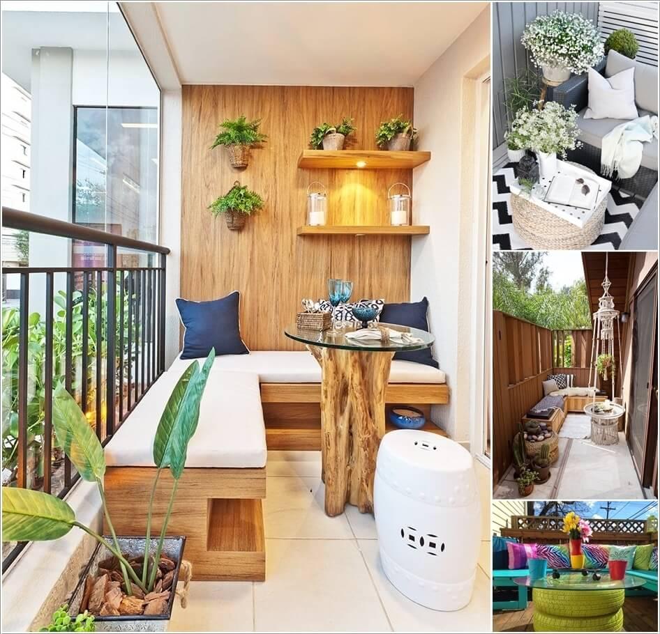 balcony idea 2 - 14 Ý TƯỞNG VÀ CẢM HỨNG CHO BAN CÔNG CĂN HỘ