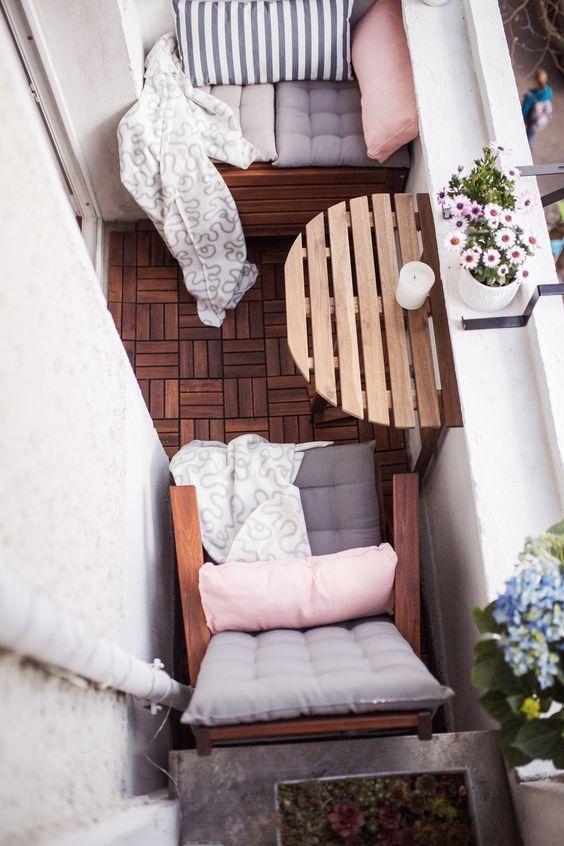 balcony idea 9 - 14 Ý TƯỞNG VÀ CẢM HỨNG CHO BAN CÔNG CĂN HỘ