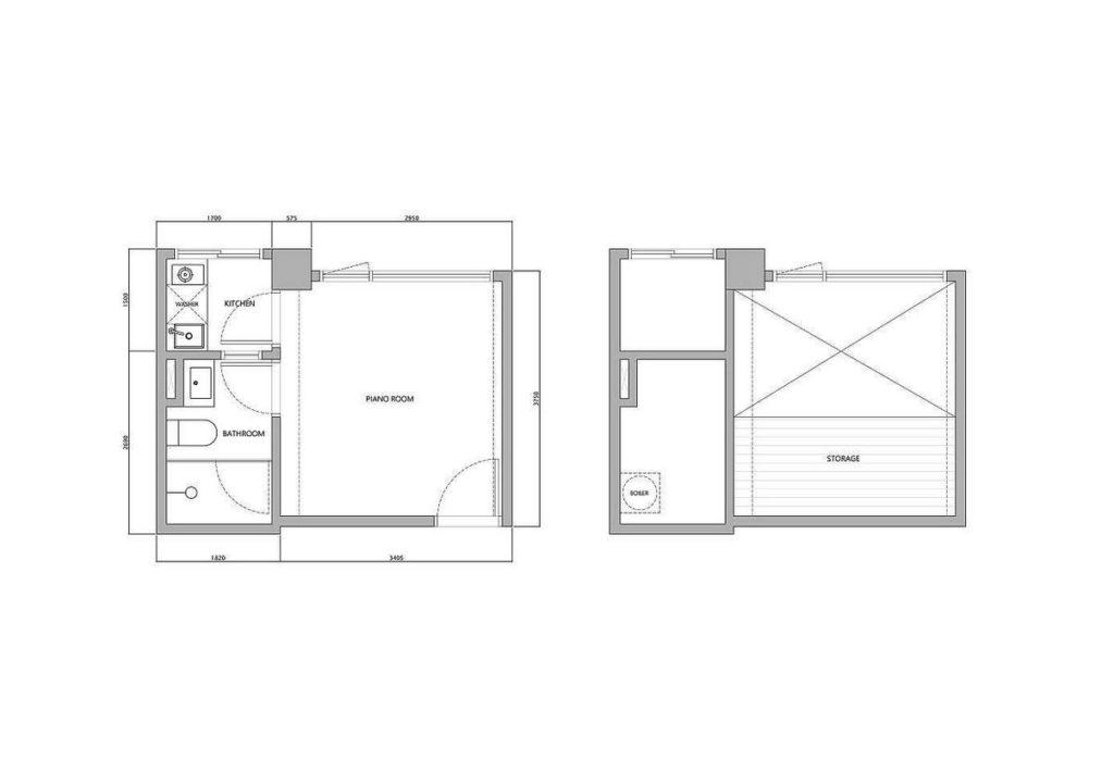 design small apartment 10 1 1024x720 - KHÁM PHÁ CĂN HỘ 22M2 TIỆN NGHI Ở ĐÀI BẮC