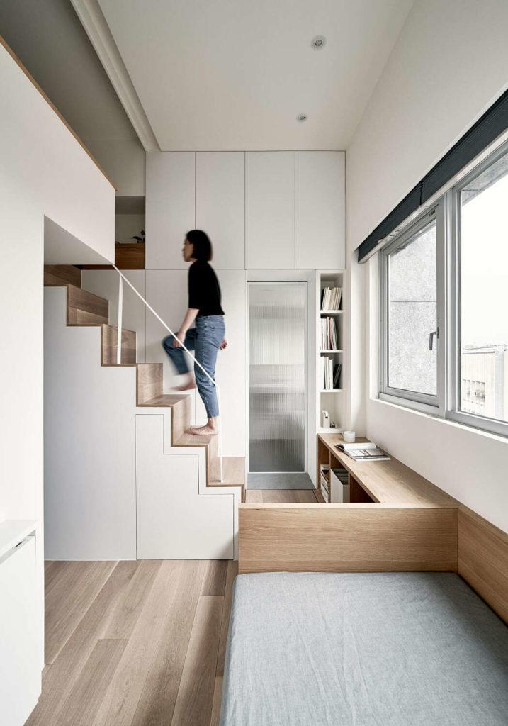 design small apartment 2 2 717x1024 - KHÁM PHÁ CĂN HỘ 22M2 TIỆN NGHI Ở ĐÀI BẮC