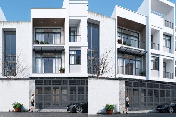 thiết kế cải tạo mựt tiền nhà phố 4m